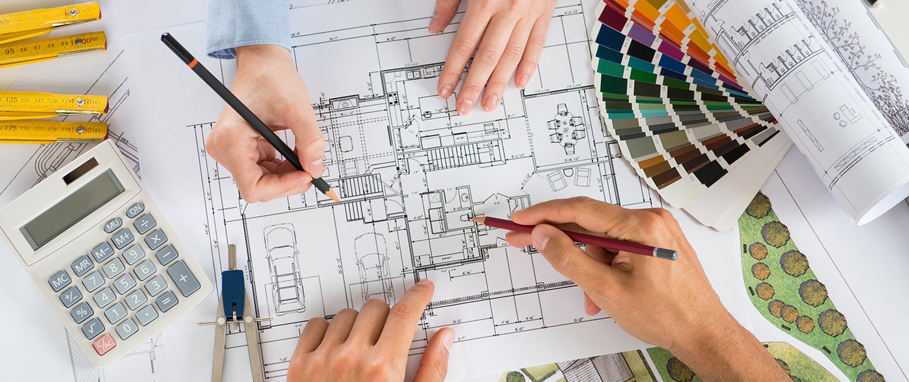 Vår arkitekt og byggmester utfører prosjektarbeid og andre byggtjenester